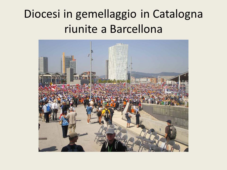 Diocesi in gemellaggio in Catalogna riunite a Barcellona