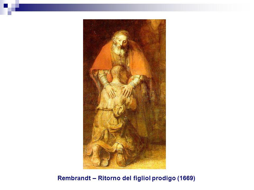 Rembrandt – Ritorno del figliol prodigo (1669)