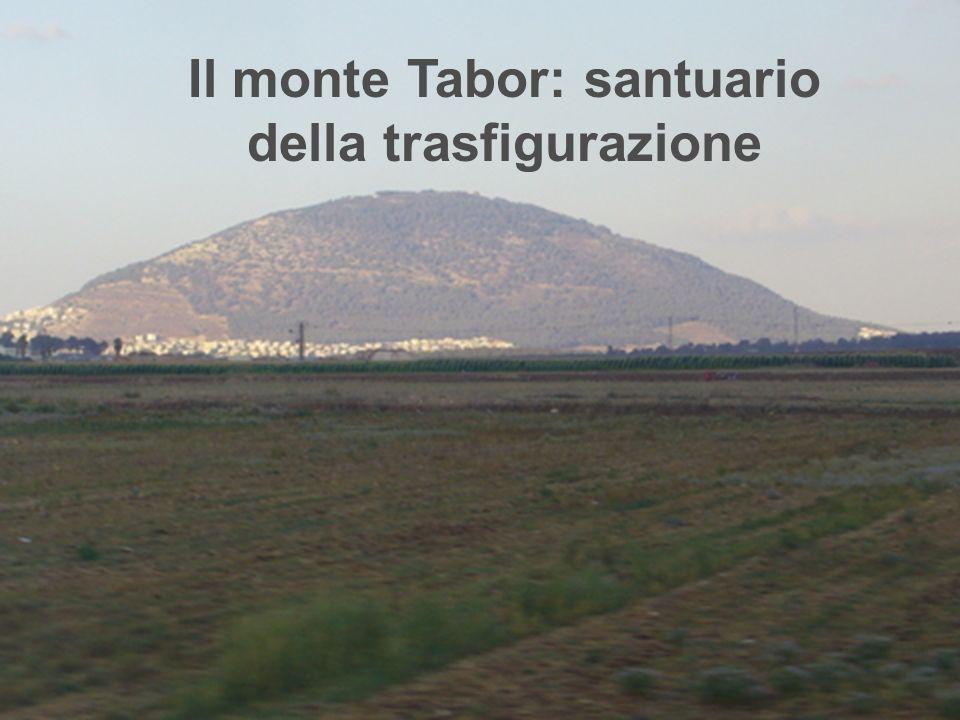 Il monte Tabor è unaltura di circa 600 mt.S.m.