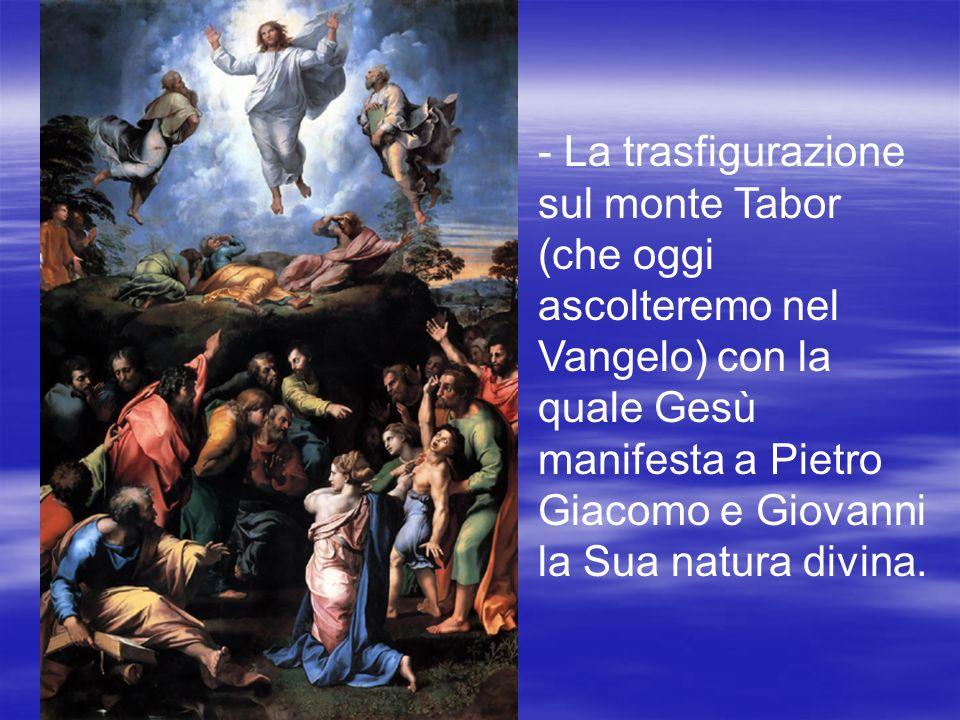 La morte in croce sul monte Calvario attraverso la quale ha salvato lintera umanità.