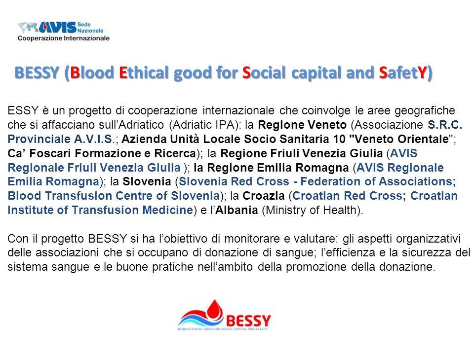 ESSY è un progetto di cooperazione internazionale che coinvolge le aree geografiche che si affacciano sullAdriatico (Adriatic IPA): la Regione Veneto (Associazione S.R.C.