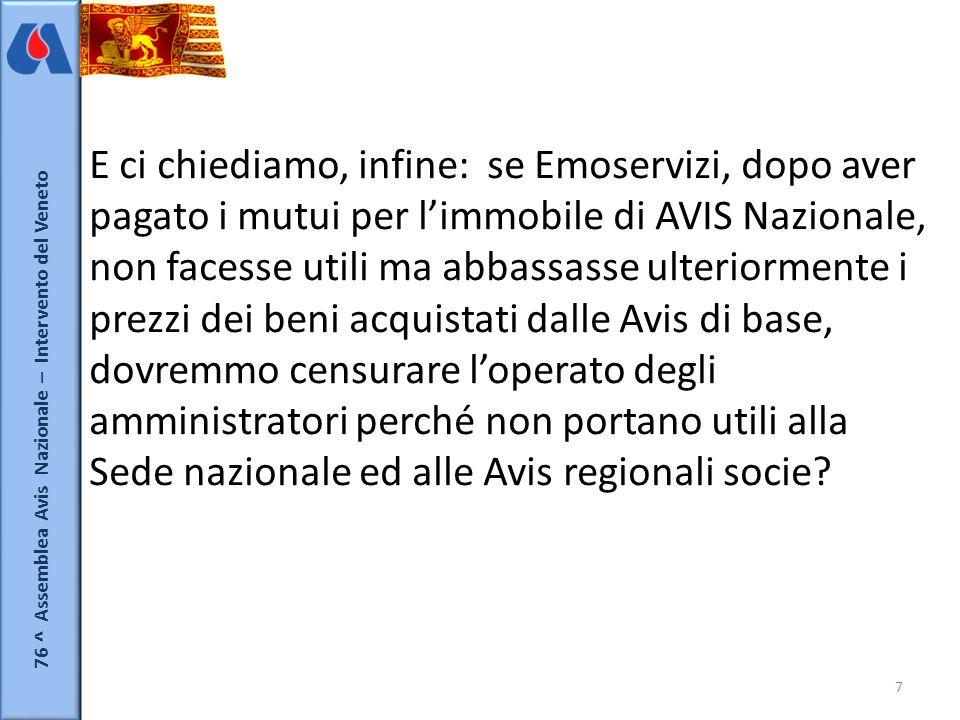 76 ^ Assemblea Avis Nazionale – Intervento del Veneto 8