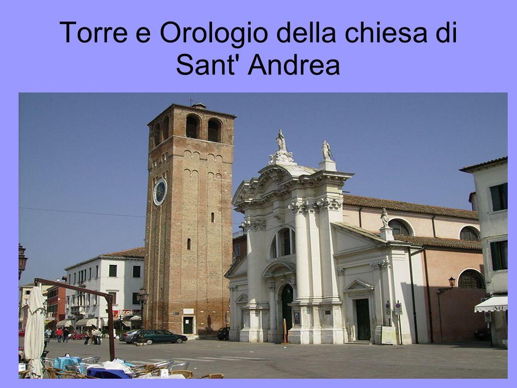 Torre e Orologio della chiesa di Sant' Andrea Titolo