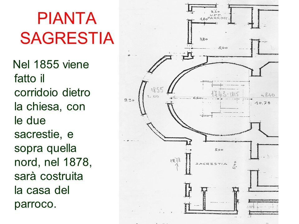 Sono stati trovati diversi quadri durante i lavori di sistemazione della Sagrestia e dellarchivio, un S.
