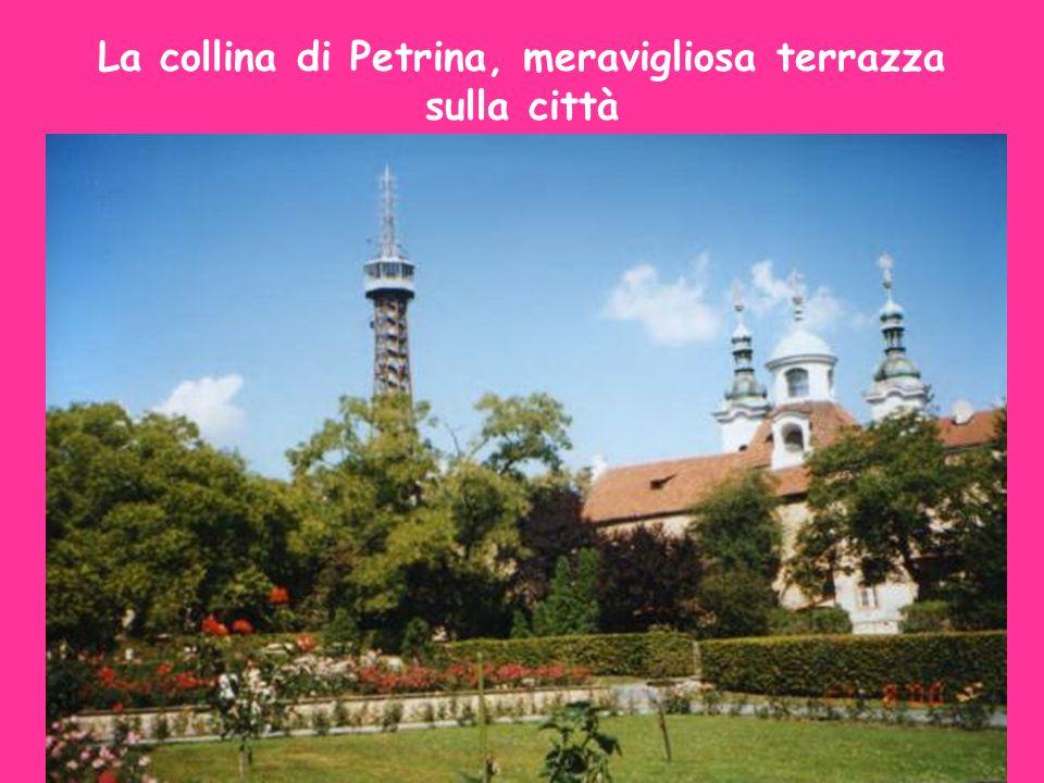 La collina di Petrina, meravigliosa terrazza sulla città