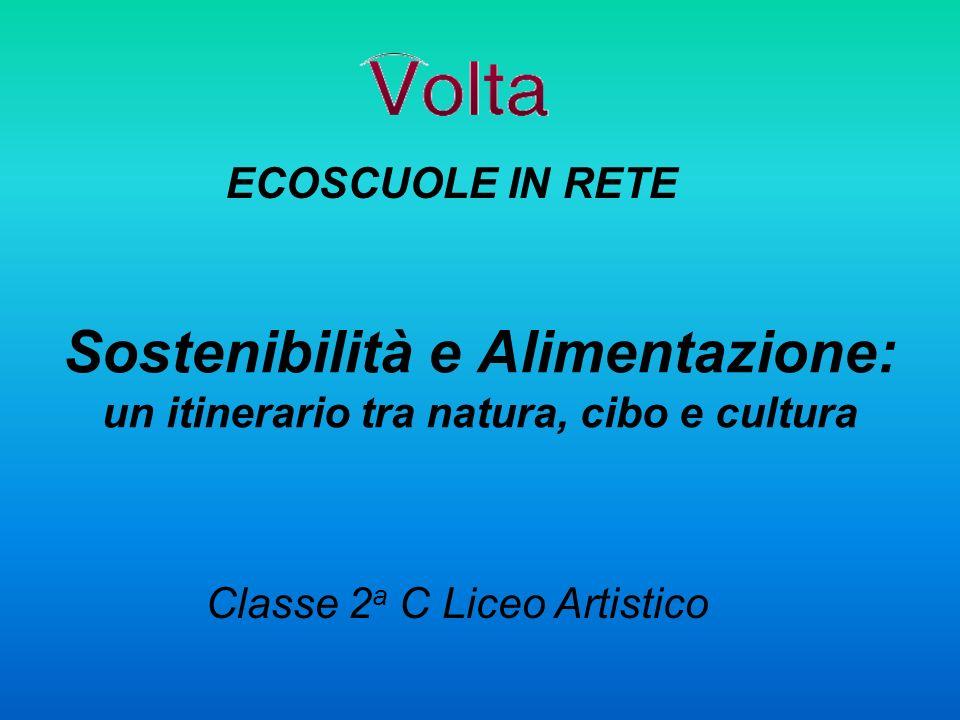 Sostenibilità e Alimentazione: un itinerario tra natura, cibo e cultura Classe 2 a C Liceo Artistico ECOSCUOLE IN RETE