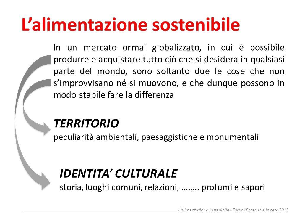__________________________________________________________________Lalimentazione sostenibile - Forum Ecoscuole in rete 2013 LOrganizzazione Mondiale della Sanità definisce la salute come …….