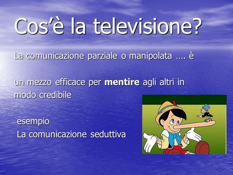 La comunicazione parziale o manipolata ….