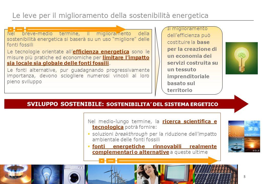6 Efficienza energetica: un grande potenziale a costi ridotti Il miglioramento dellefficienza energetica negli edifici, apparecchiature, trasporti e industria è il sistema più valido ed economico per ridurre le emissioni di CO2 McKinsey&Co – Pathways to a Low-Carbon Economy, 2009 end uses efficiency