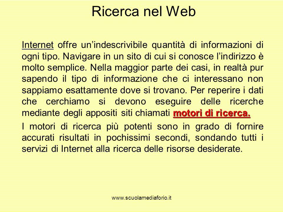 www.scuolamediaforio.it Download di un file download FTP client shareware o freewareMP3 virus rete antivirus In molti casi su internet, oltre alla sem