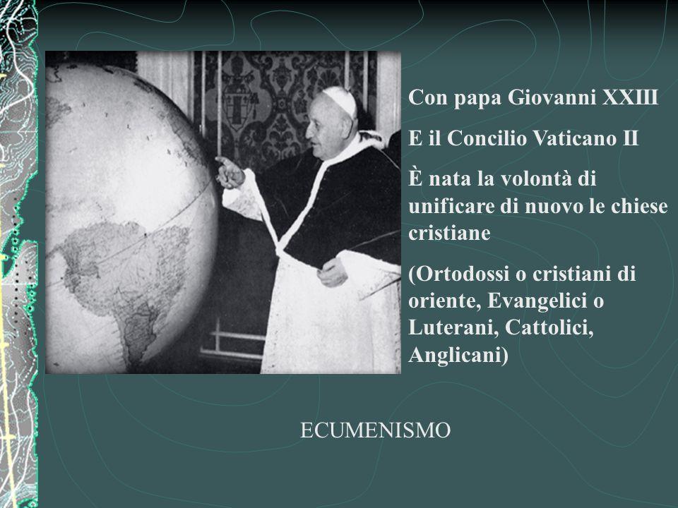 Il Concilio di Trento (1542) Cercò invano di trovare una soluzione ai problemi della Chiesa cristiana