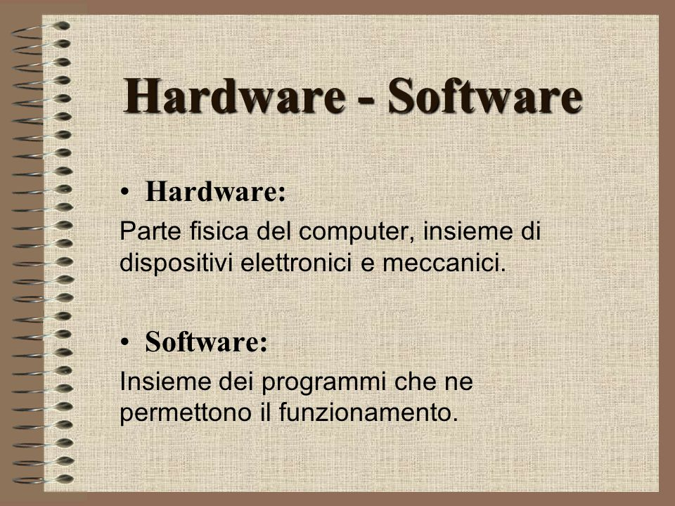Dispositivi I/O INPUT Scanner Mouse Tastiera Joystick OUTPUT MonitorStampante Masterizzatore INPUT-OUTPUT Modem Floppy disk CD romPen Driving Cam