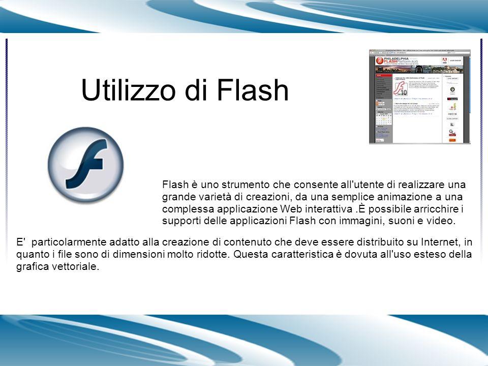 Il codice ActionScript consente di aggiungere interattività agli elementi multimediali del documento.