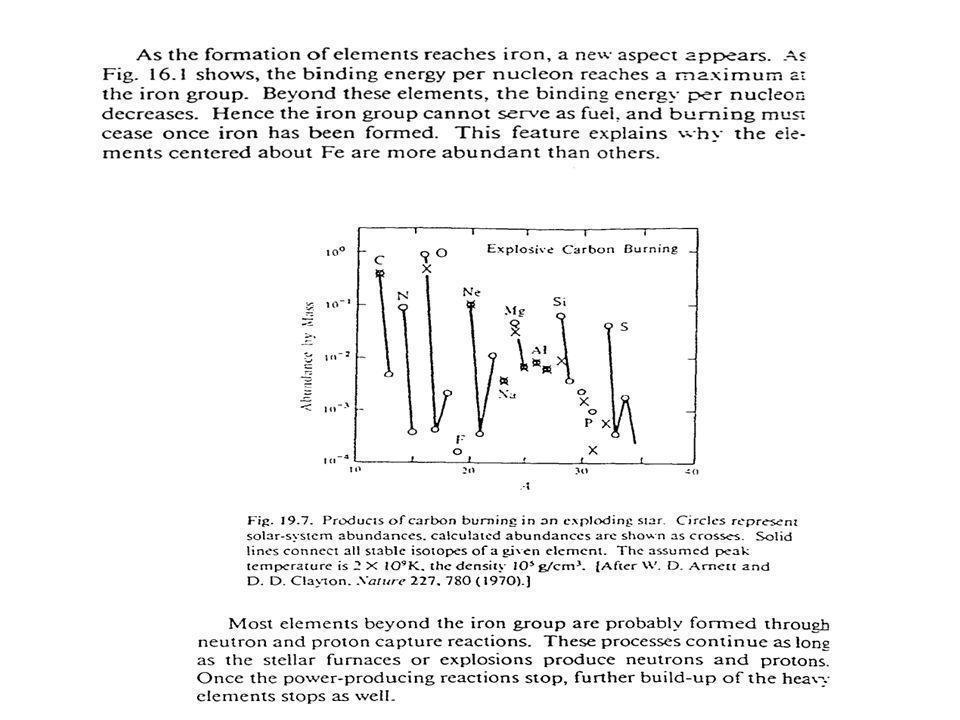 Densità e composizione di una stella di neutroni.