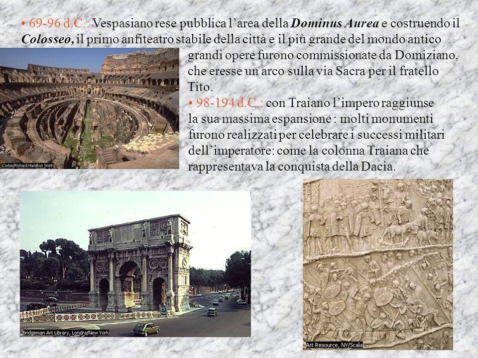 EPOCA IMPERIALE Per arte delletà imperiale si intende tutta la produzione artistica dei secoli da Augusto a Costantino.Fino all età di Traiano limpero