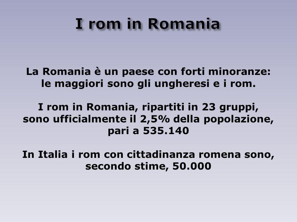 La Romania è un paese con forti minoranze: le maggiori sono gli ungheresi e i rom.