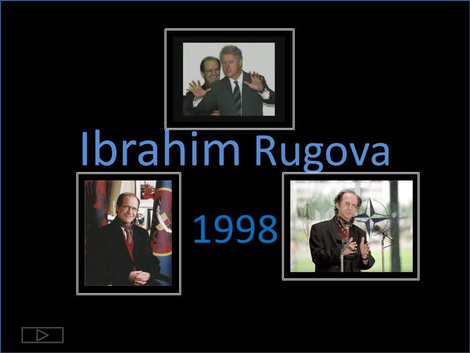 Ibrahim Rugova 1998