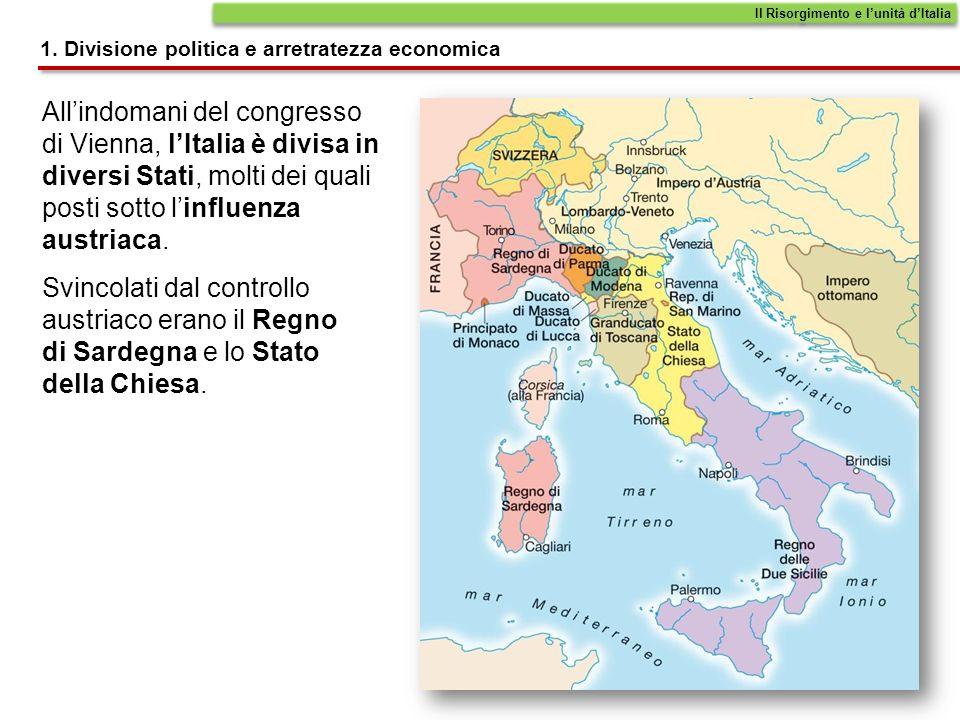 Leconomia dellItalia è ancora prevalentemente agricola.