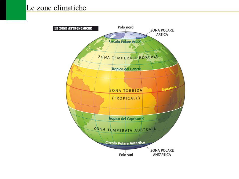 Cartina Del Mondo Con Zone Climatiche.Copy Of Le Fasce Climatiche Della Terra