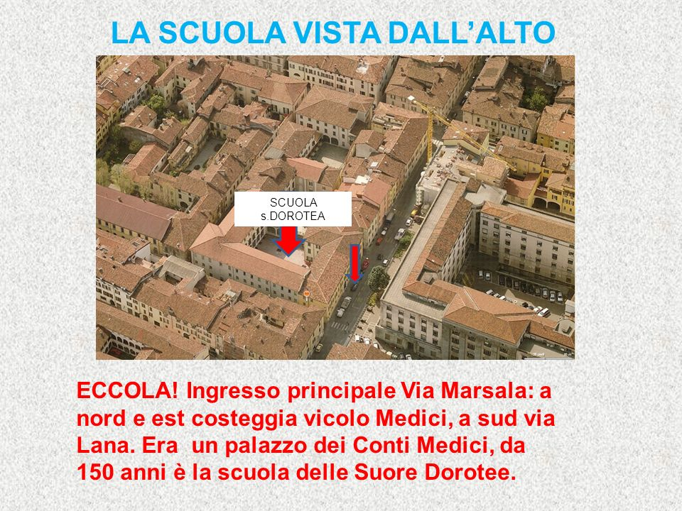 Si trova a Brescia, nel Centro Storico, in un quartiere medievale.