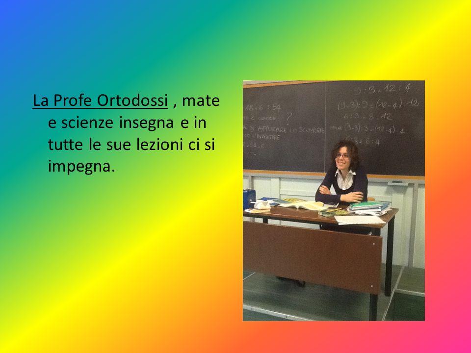 Ed ecco i nostri insegnanti: Salzillo professor di italiano modello, che ha come sue parole preferite giocondo e feroce però, se facciamo i cattivi….
