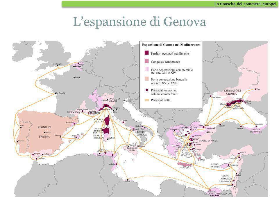 Dopo Amalfi, acquisirono importanza le città di Pisa, in Toscana, e Genova, in Liguria; esse sottrassero ai Saraceni le isole del Tirreno e le Baleari
