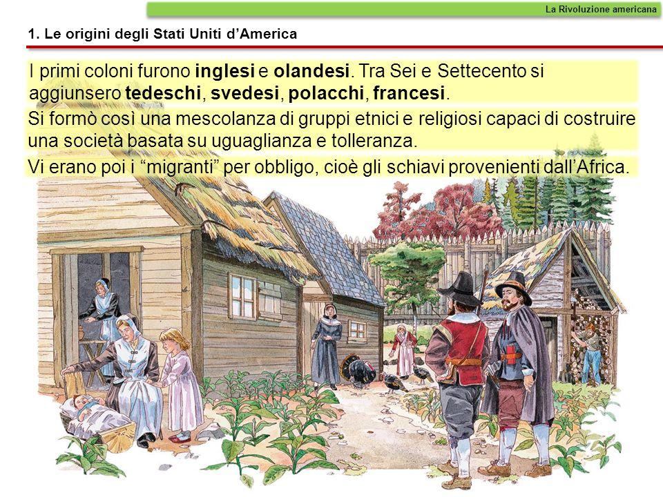 I primi coloni furono inglesi e olandesi. Tra Sei e Settecento si aggiunsero tedeschi, svedesi, polacchi, francesi. Si formò così una mescolanza di gr