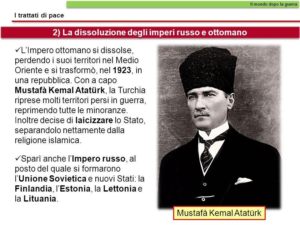 Durante la Prima guerra mondiale le popolazioni arabe avevano organizzato, sotto la guida dellinglese Thomas E.