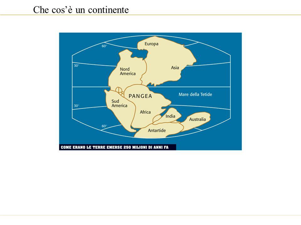 Che cosè un continente