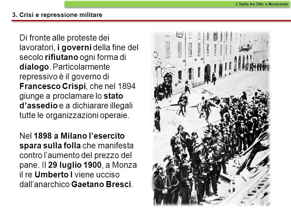 Di fronte alle proteste dei lavoratori, i governi della fine del secolo rifiutano ogni forma di dialogo. Particolarmente repressivo è il governo di Fr