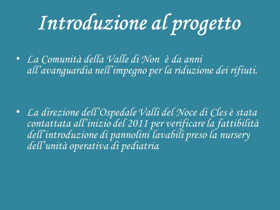 Introduzione al progetto La Comunità della Valle di Non è da anni allavanguardia nellimpegno per la riduzione dei rifiuti.