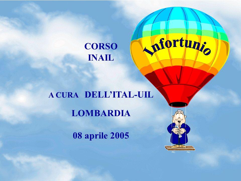 0 CORSO INAIL A CURA DELLITAL-UIL LOMBARDIA 08 aprile 2005