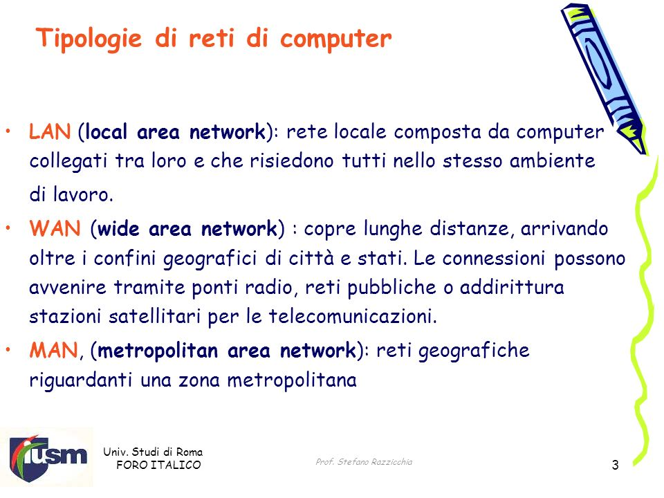 Univ. Studi di Roma FORO ITALICO Prof.
