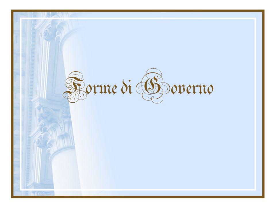 Governo direttoriale Forma di governo direttoriale, in tale sistema istituzionale un collegio composto da più persone funge da Capo dello Stato e del Governo.