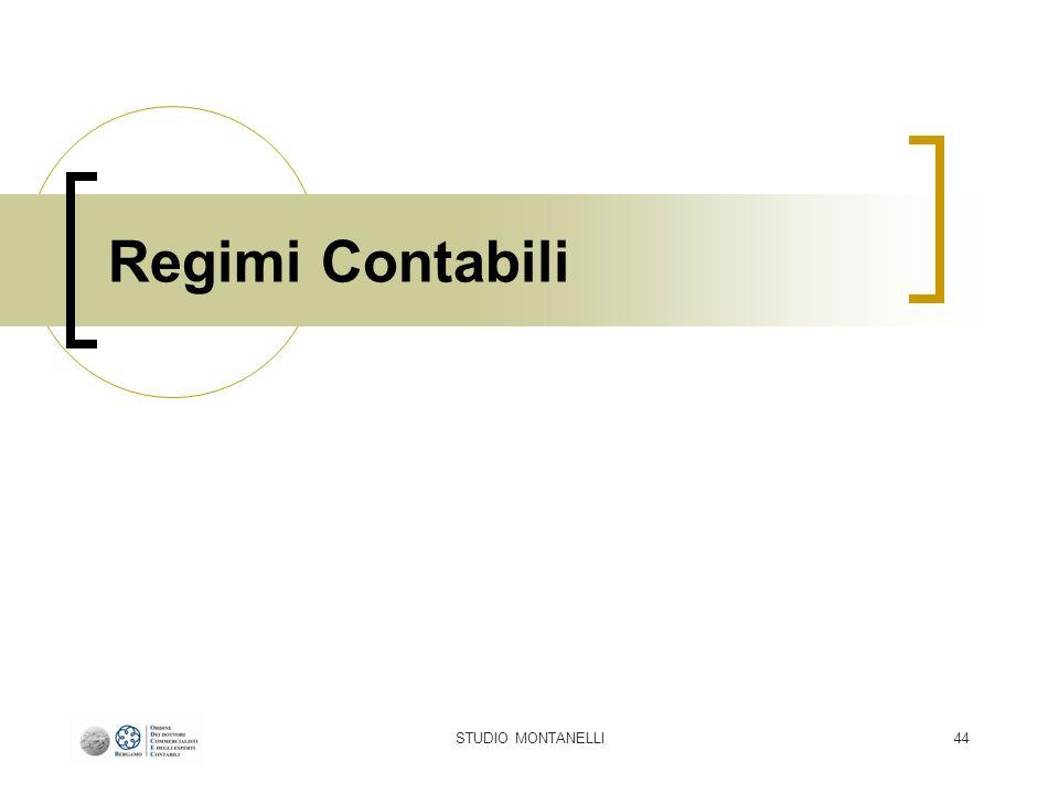 STUDIO MONTANELLI44 Regimi Contabili