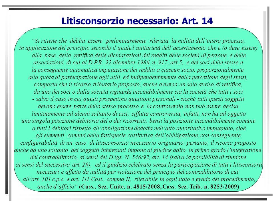 STUDIO FERRAJOLI Si ritiene che debba essere preliminarmente rilevata la nullità dellintero processo, in applicazione del principio secondo il quale l