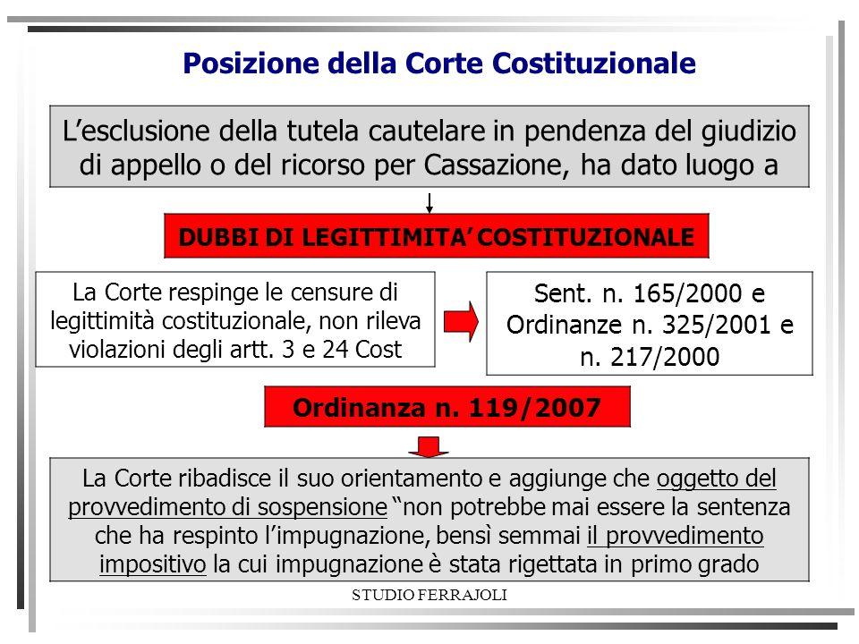 STUDIO FERRAJOLI Procedura dappello: segue Non è necessario depositare la copia della sentenza appellata.