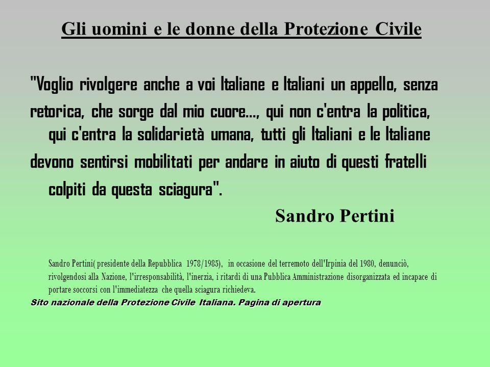 COMUNICAZIONE IN CASO DI EMERGENZA: Linformazione alla popolazione è uno degli obiettivi principali da tenere presenti per la riduzione del rischio.