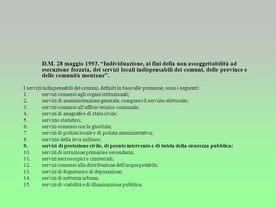 D.Lgs. 31-3-1998 n. 112 Conferimento di funzioni e compiti amministrativi dello Stato alle regioni ed agli enti locali, in attuazione del capo I della