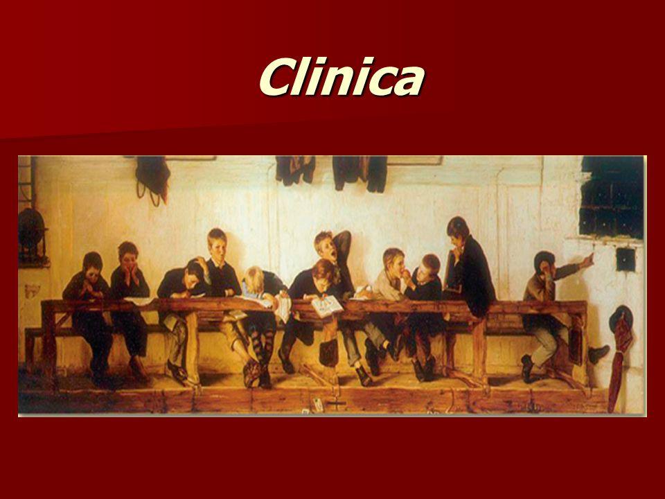 1. Clinica 2. Trattamento 3. Intervento in classe Linee Guida della Presentazione