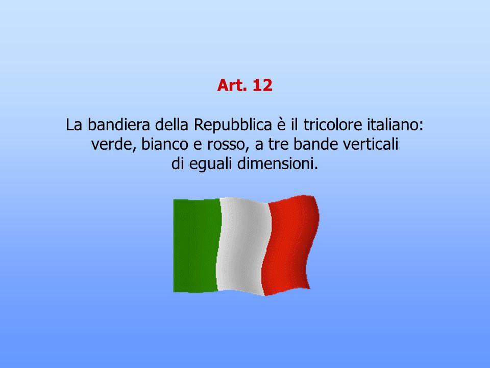 Art. 11 L'Italia ripudia la guerra come strumento di offesa alla libertà degli altri popoli e come mezzo di risoluzione delle controversie internazion