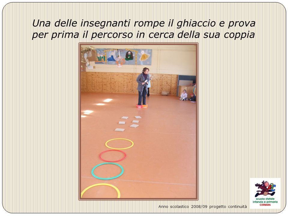 Undicesima coppia: VELA - CANDELA Anno scolastico 2008/09 progetto continuità