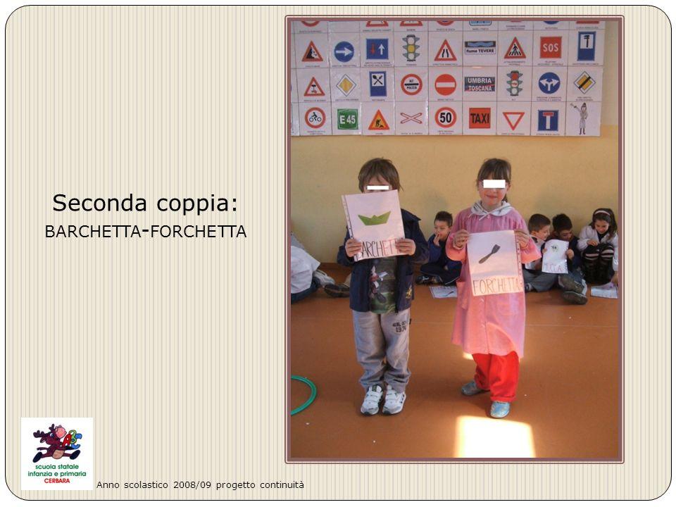 Terza coppia: PAPPAGALLO - GALLO Anno scolastico 2008/09 progetto continuità