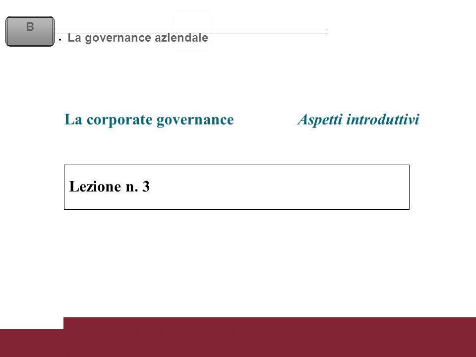 Lezione 3 Corso di Contabilità Direzionale Prof. Riccardo Acernese Lezione n.