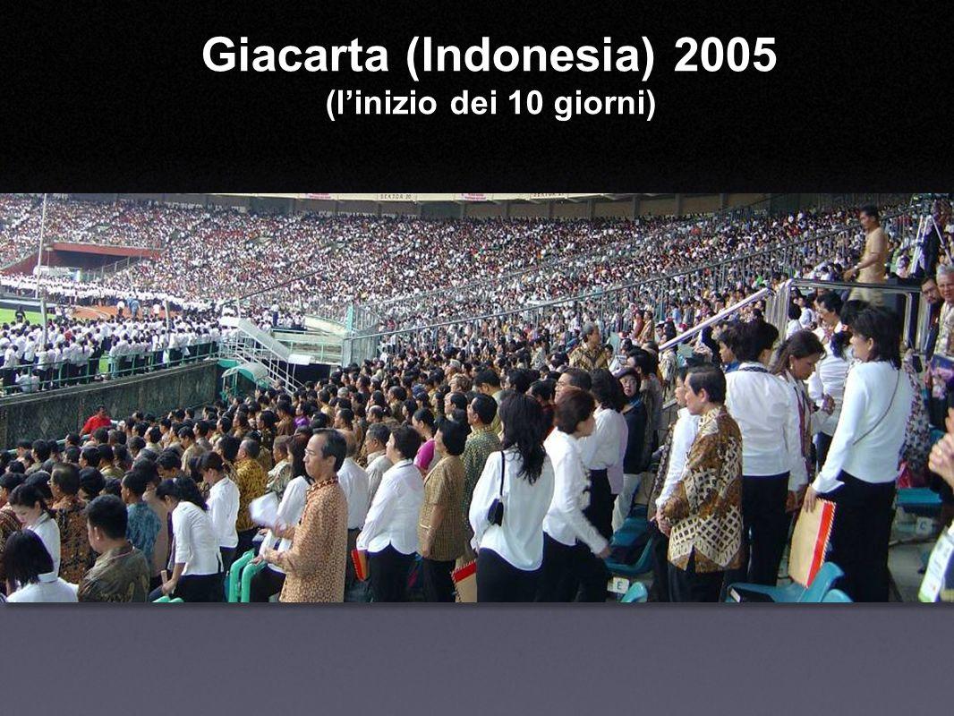 Giacarta (Indonesia) 2005 (linizio dei 10 giorni)
