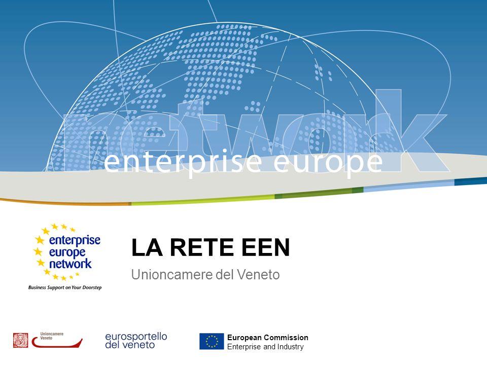 ENTERPRISE EUROPE NETWORK E IL CONSORZIO FRIEND EUROPE Progetto finanziato nell ambito del PROGRAMMA COMUNITARIO CIP (Competitvness and Innovation Programme) Si integrano per la prima volta la rete degli Euro Info Centre e degli Innovation Relay Centre Fa parte di una rete di 500 ORGANIZZAZZIONI (CCIAA, Agenzie Regionali dello Sviluppo, Centri Tecnologici Universitari) che opera in oltre 40 Paesi