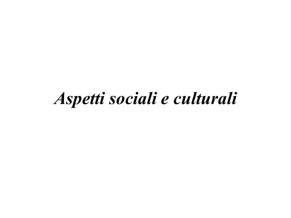 Aspetti sociali e culturali
