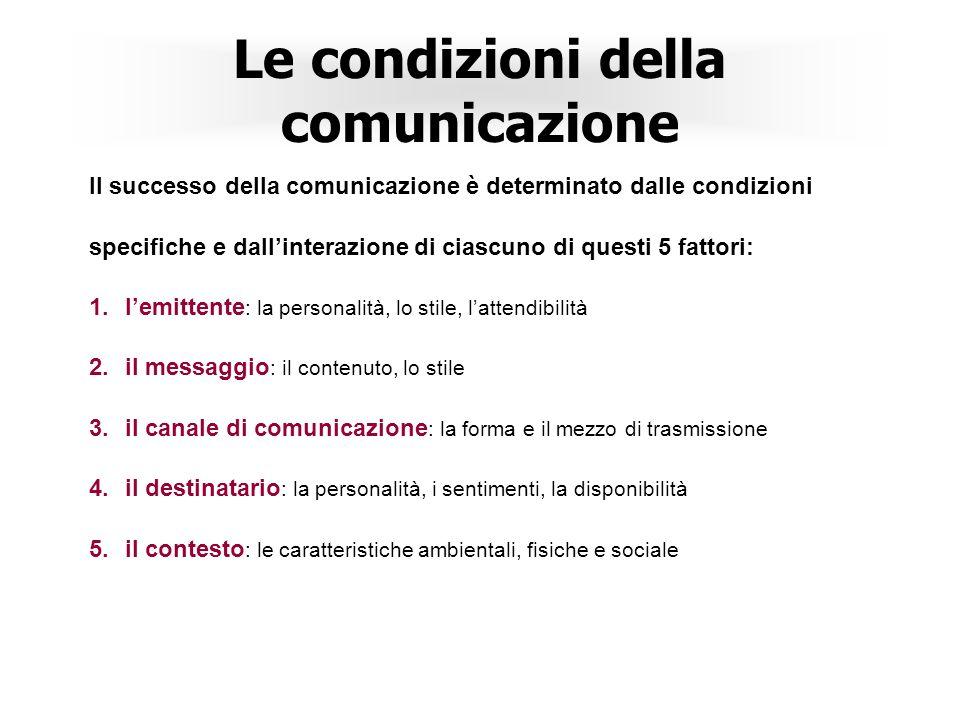 3 Comunicazione Definire a chi si comunica Definire su cosa si comunica e perchè Definire quando e come si comunica Dare coerenza alla comunicazione G