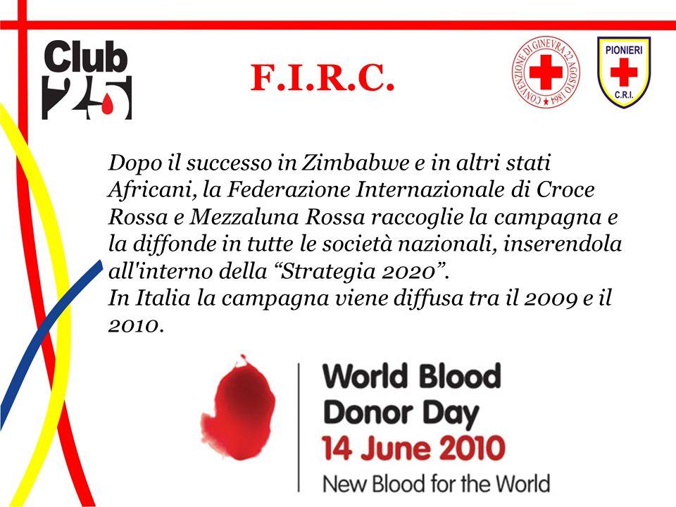 Dopo il successo in Zimbabwe e in altri stati Africani, la Federazione Internazionale di Croce Rossa e Mezzaluna Rossa raccoglie la campagna e la diff