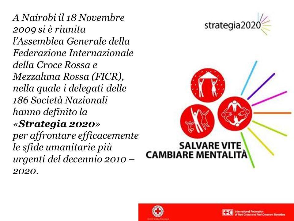 A Nairobi il 18 Novembre 2009 si è riunita lAssemblea Generale della Federazione Internazionale della Croce Rossa e Mezzaluna Rossa (FICR), nella qual